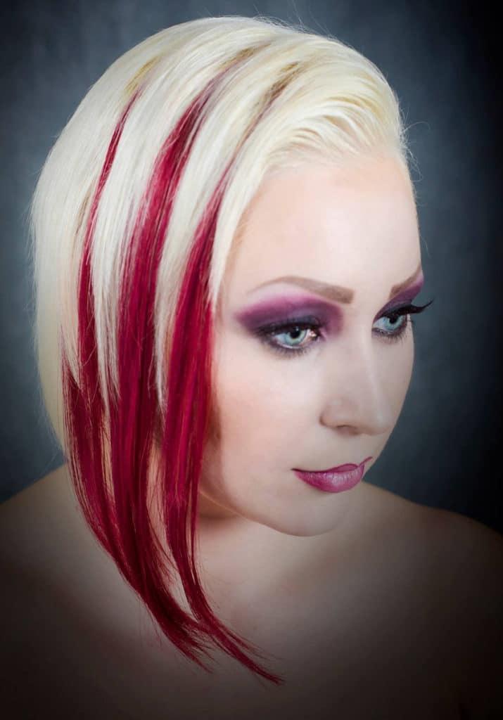 Kampaaja: Sabina SudicSalong Hairspray, malli: Maeldina Zahirovic, käytetty materiaali: 30 cm laine 5.62